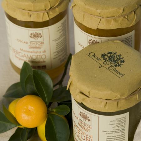 Marmellate e Miele agli Agrumi